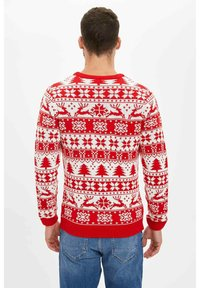 DeFacto - CHRISTMAS - Jumper - red - 1