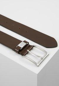 BOSS - CONNIO - Belt business - dark brown - 2