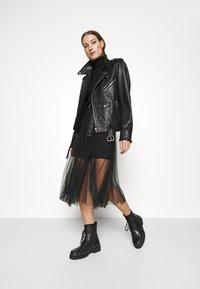 AllSaints - ELVIE TULLE SKIRT - A-line skirt - black - 1