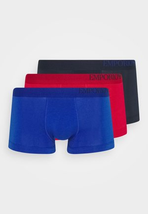 3 PACK - Pants - cherry/gentian/mariene