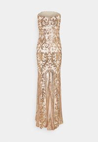 Nly by Nelly - FIERCE SEQUIN GOWN - Suknia balowa - champagne - 0