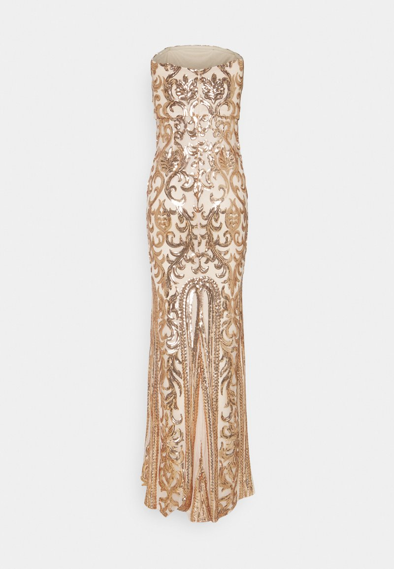 Nly by Nelly - FIERCE SEQUIN GOWN - Suknia balowa - champagne