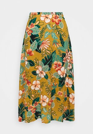 JUNO SKIRT LILO - A-line skjørt - gold yellow