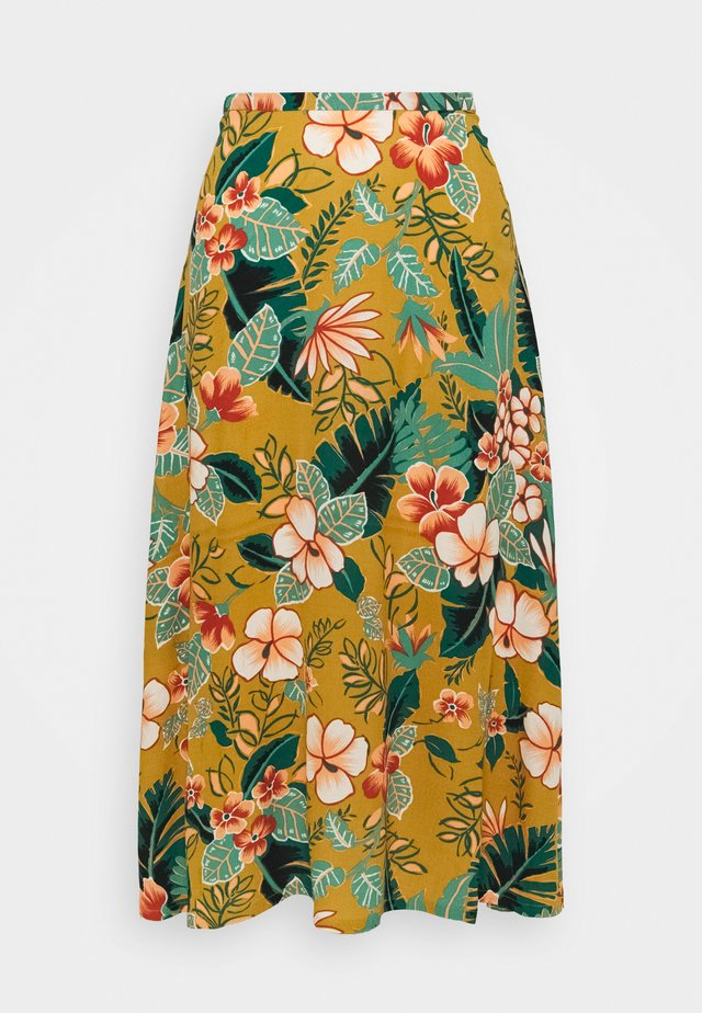 JUNO SKIRT LILO - A-line skirt - gold yellow