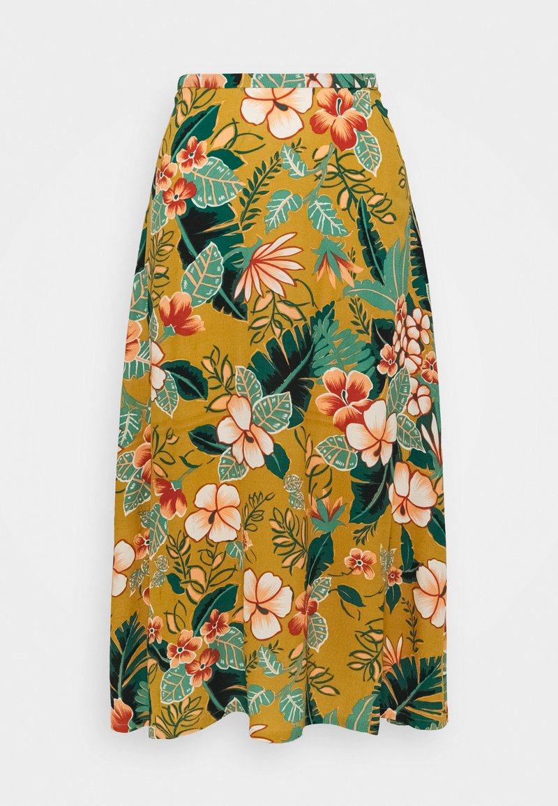 King Louie - JUNO SKIRT LILO - A-line skirt - gold yellow