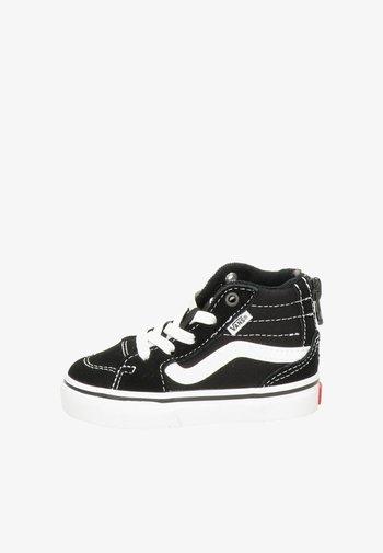 VANS FILMORE HI ZIP UNISEX KINDER SNEAKER - Sneakers hoog - zwart