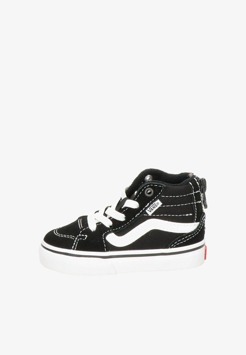 Vans - VANS FILMORE HI ZIP UNISEX KINDER SNEAKER - Sneakers hoog - zwart