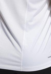adidas Performance - SL TECHFIT AEROREADY PRIMEGREEN SPORTS SLEEVELESS T-SHIRT - Top - white - 5