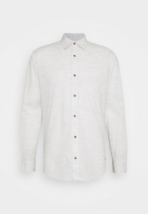 JORTONS MELANGE SLIM FIT - Camicia - cloud dancer