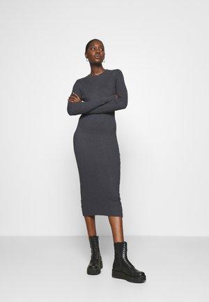 Shift dress - dark grey