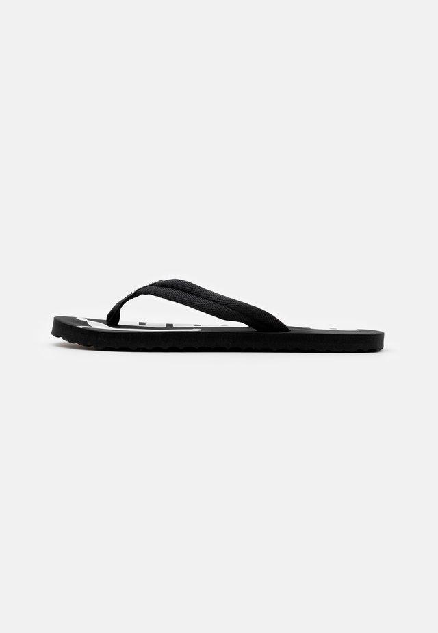 EPIC FLIP V2 UNISEX - T-bar sandals - black/white