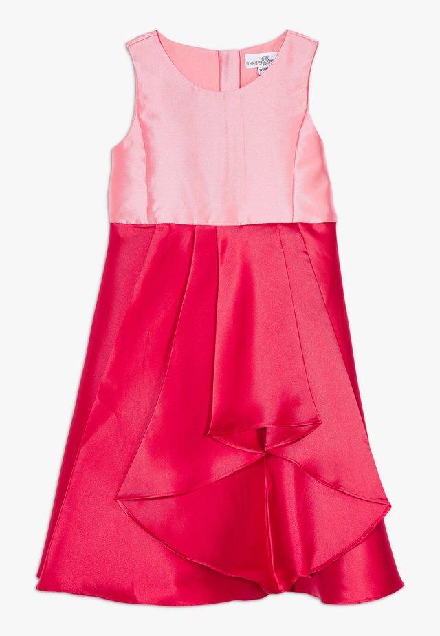 Cocktailkleid/festliches Kleid - rot/pink