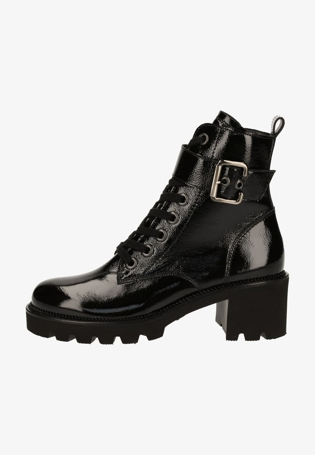 Bottines à lacets - schwarz 017