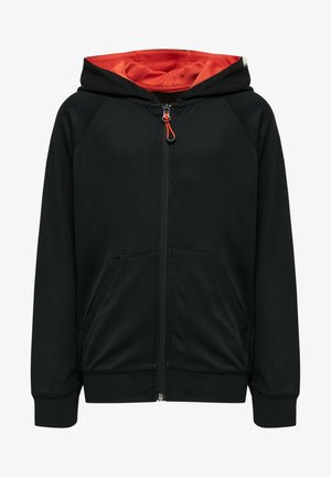 ACTION - Zip-up hoodie - black fiesta