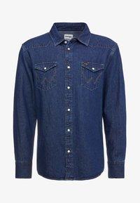 Wrangler - Shirt - dark blue - 4