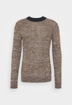 JORWOODS KNIT CREW NECK  - Jumper - rubber