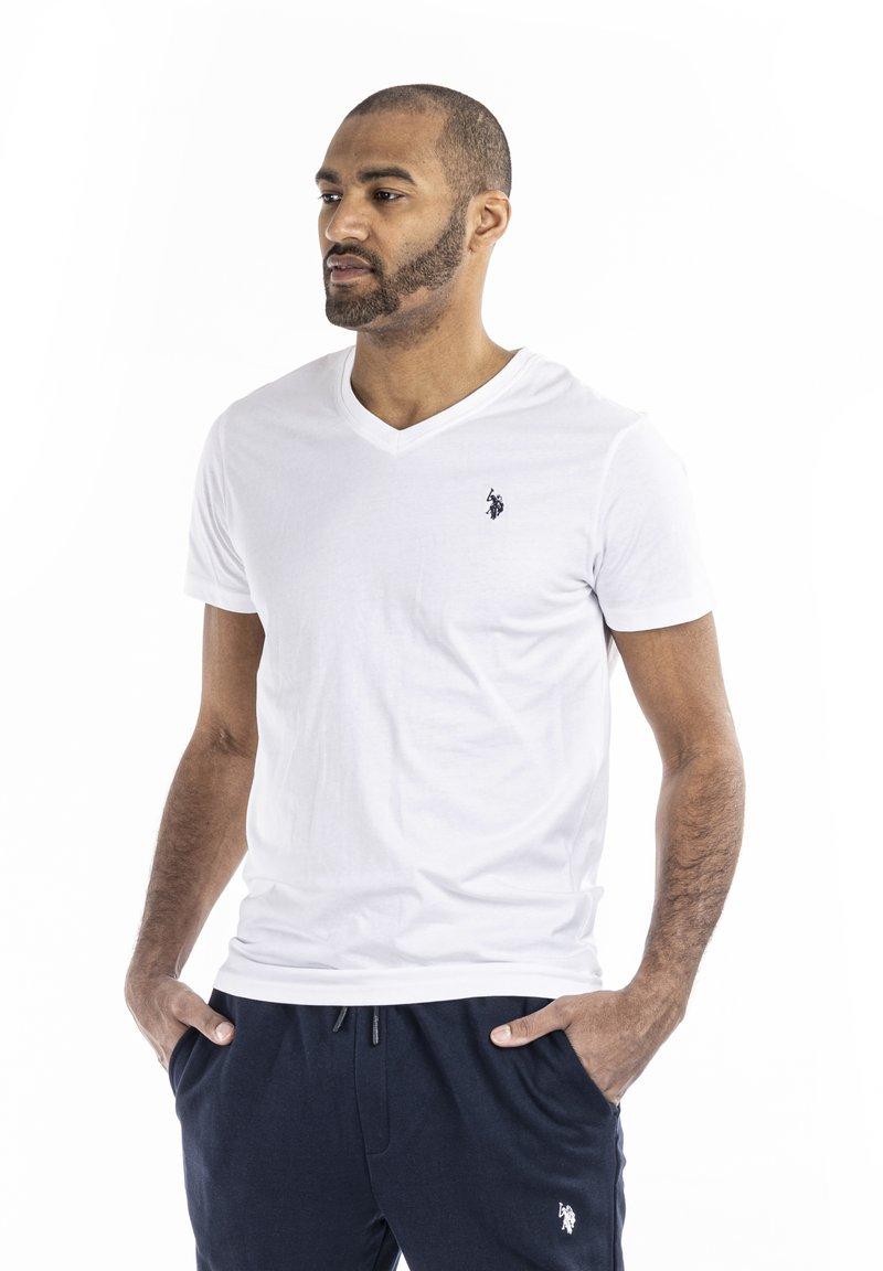 U.S. Polo Assn. - CEM - T-shirt - bas - white