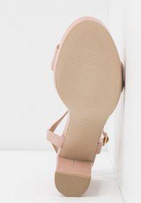 New Look - QUEEN - Sandály na vysokém podpatku - oatmeal - 6