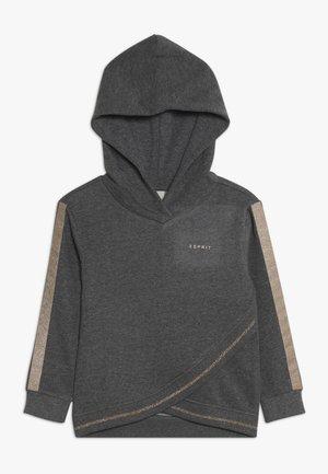 Hoodie - dark heather grey