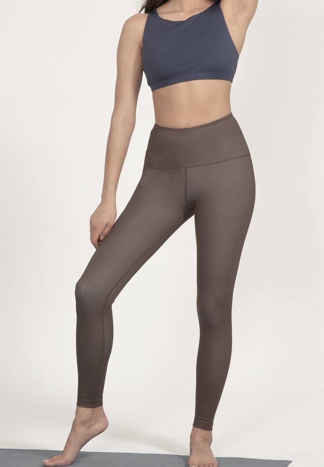 Leggings - braun