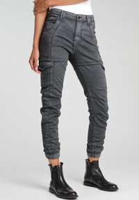 Gang - GISELLE  - Jeans Tapered Fit - black - 1