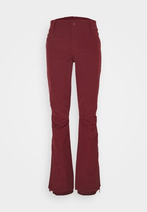 CREEK - Snow pants - oxblood red