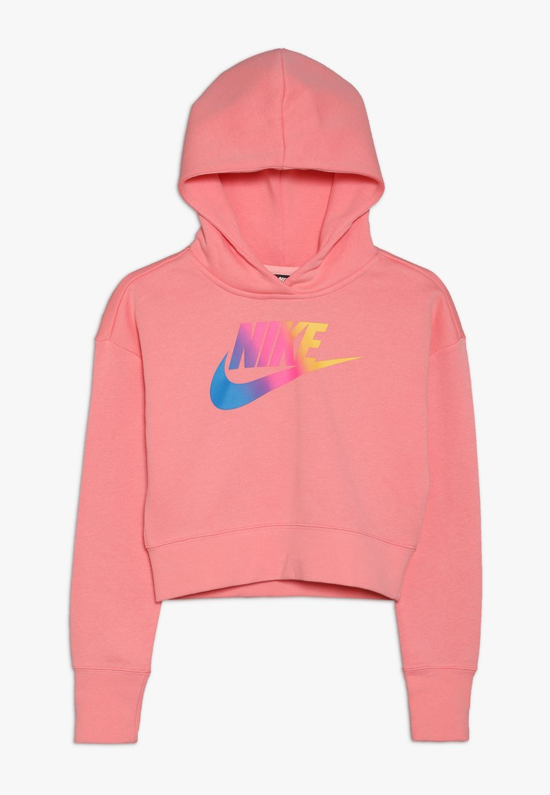 Nike Sportswear - CROP - Hoodie - pink gaze/white