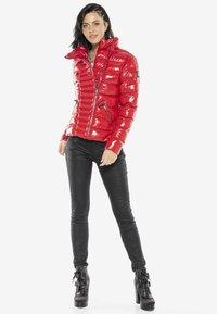 Cipo & Baxx - Winter jacket - red - 1