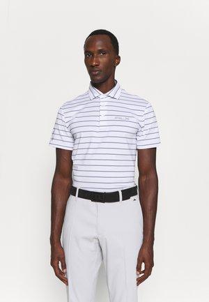 SHORT SLEEVE - Polo shirt - pure white multi