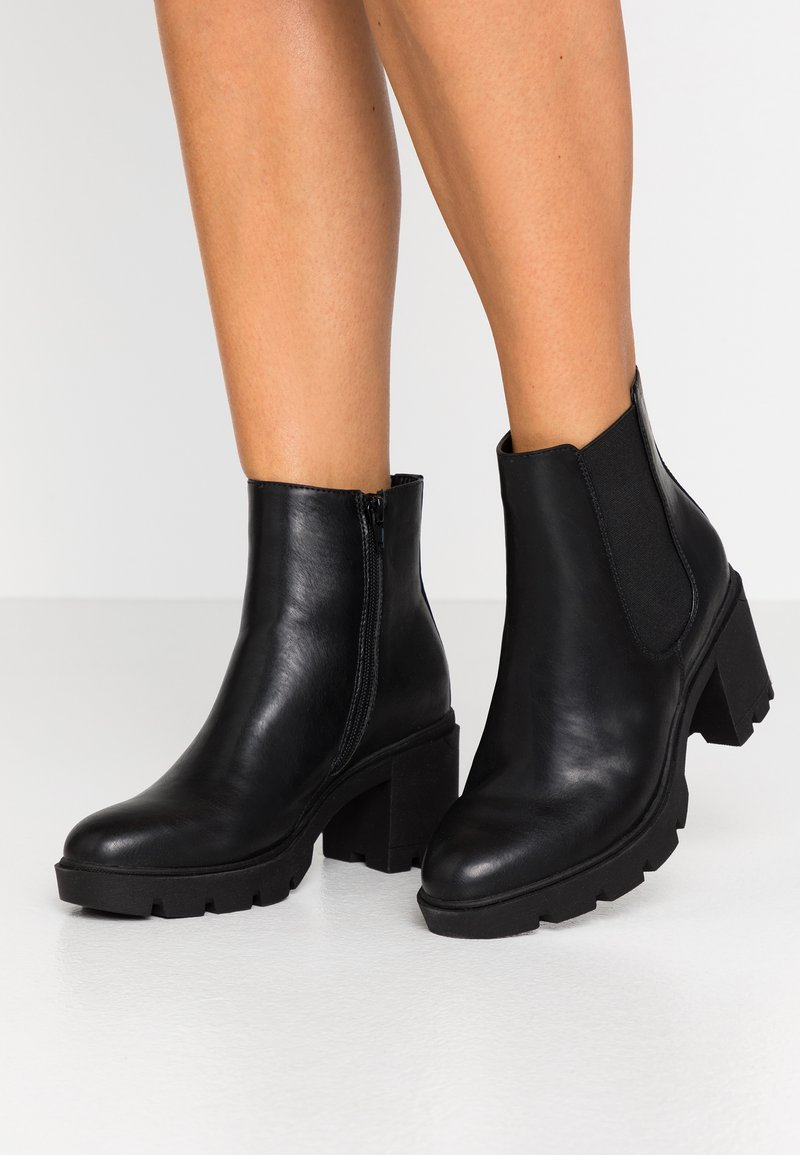 Anna Field - Bottines à plateau - black