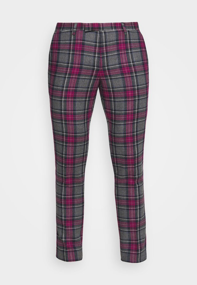 BELTON TROUSERS - Tygbyxor - purple