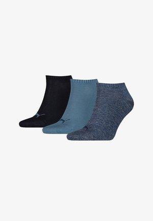 UNISEX SNEAKER PLAIN 6 PACK - Sports socks - blau