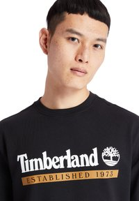 Timberland - ESTABLISHED 1973 CREW - Sweatshirt - black-wheat boot - 3