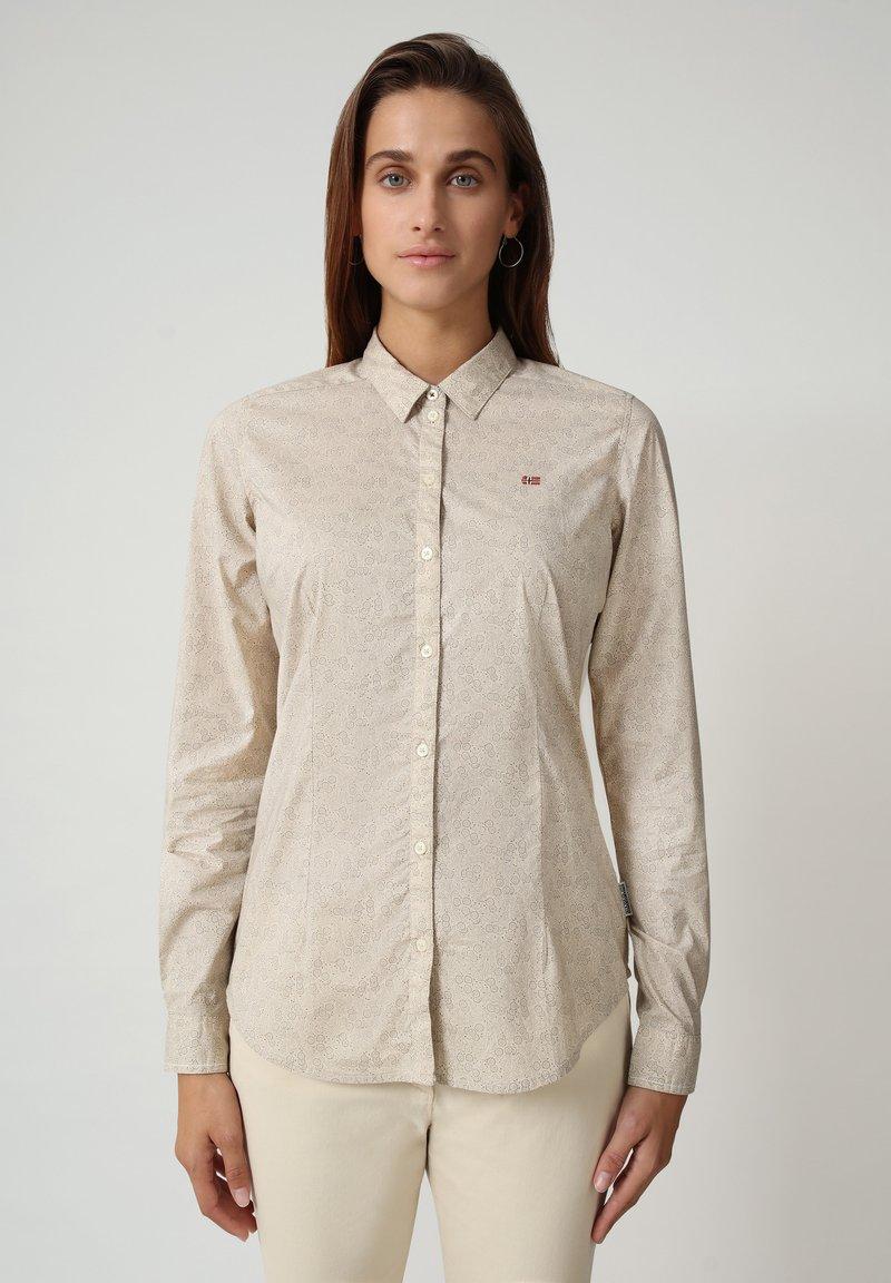 Napapijri - GREZAN - Button-down blouse - fantasy l