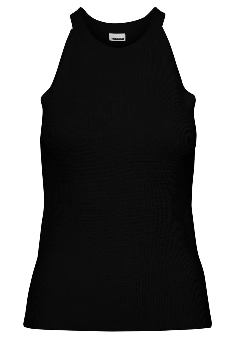 Noisy May - STRICKOBERTEIL CROPPED - Top - black