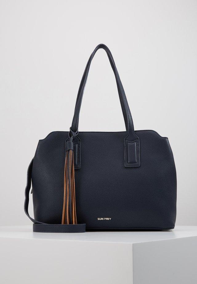 PATSY - Tote bag - blue