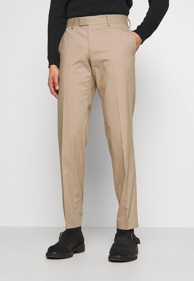 TORDON - Pantalon de costume - dark sand