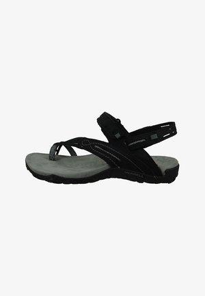 TERRAN CONVERTIBLE II  - Walking sandals - black