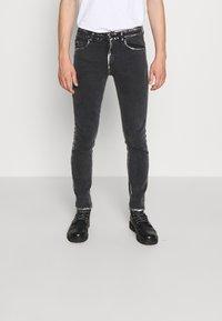 Versace Jeans Couture - COMFORT - Slim fit -farkut - black - 0