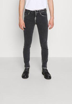 COMFORT - Slim fit -farkut - black