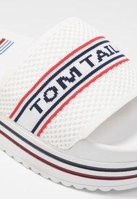 TOM TAILOR - Pantofle na podpatku - white - 2