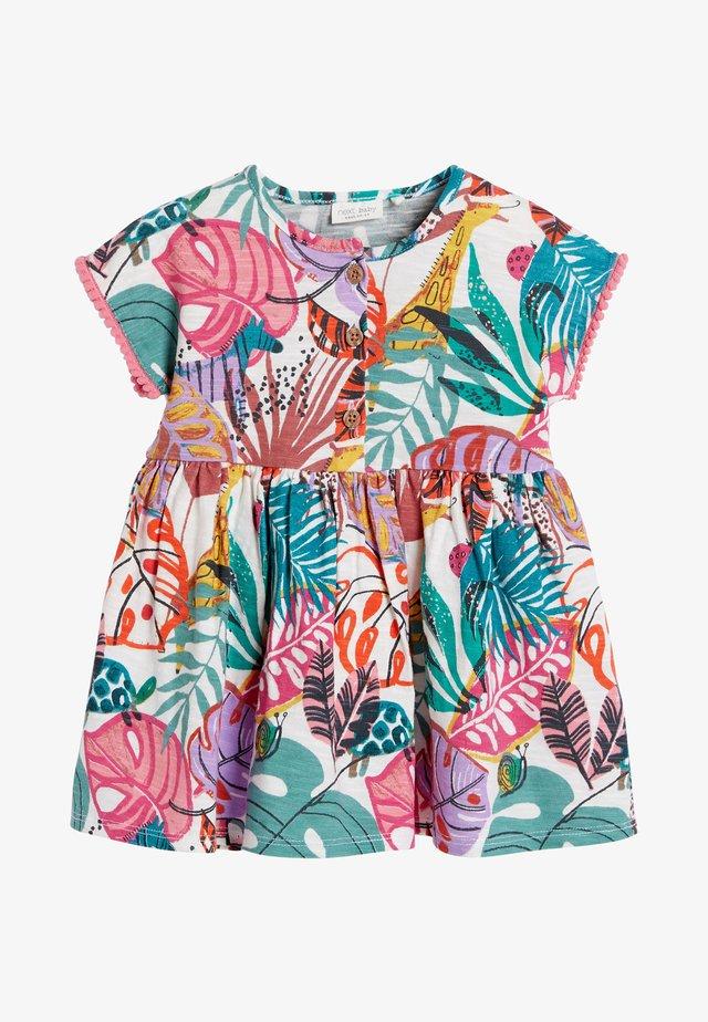Žerzejové šaty - multi coloured