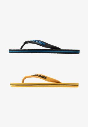 JRFLIP FLOP 2 PACK - Pool shoes - black/yellow