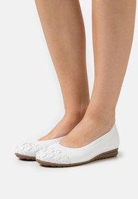 Gabor Comfort - Ballerinat - weiß - 0