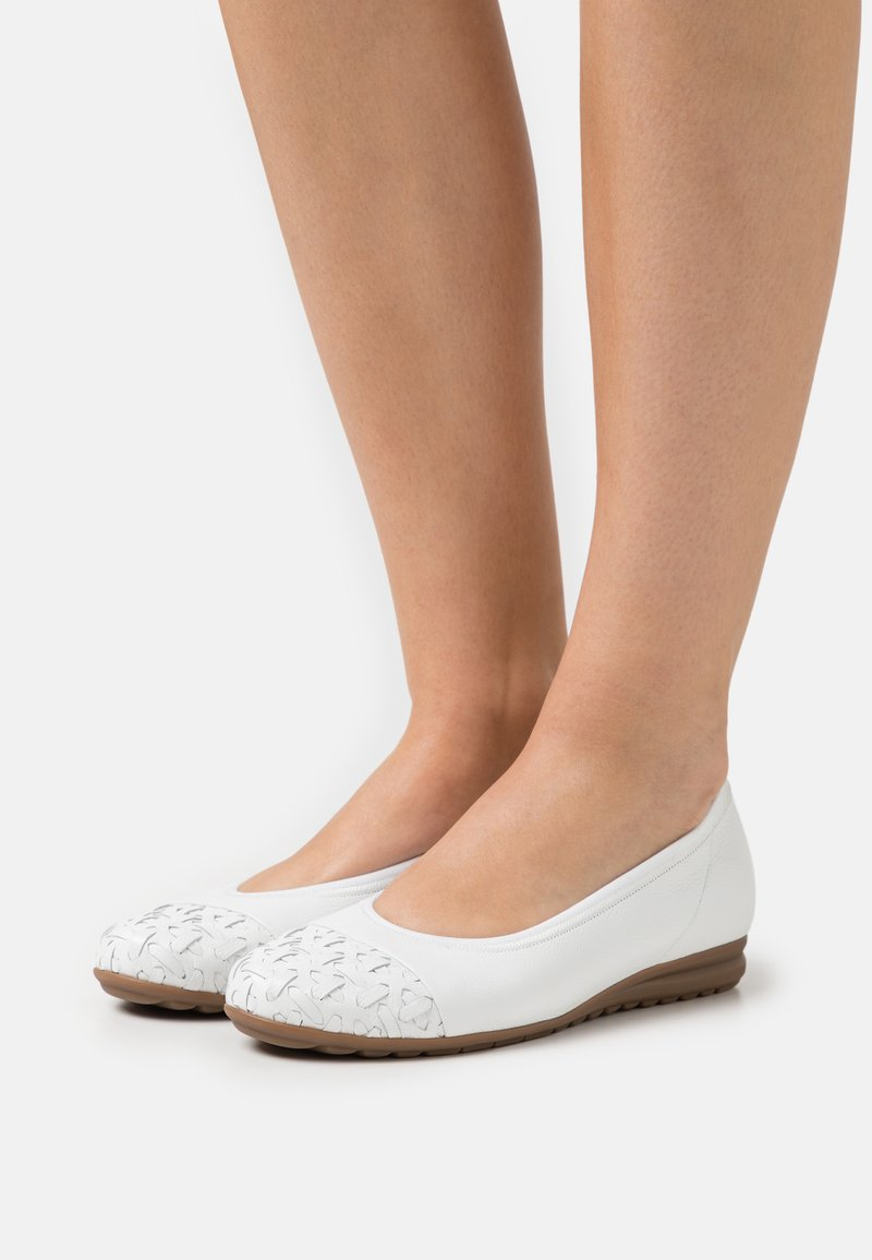 Gabor Comfort - Ballerinat - weiß