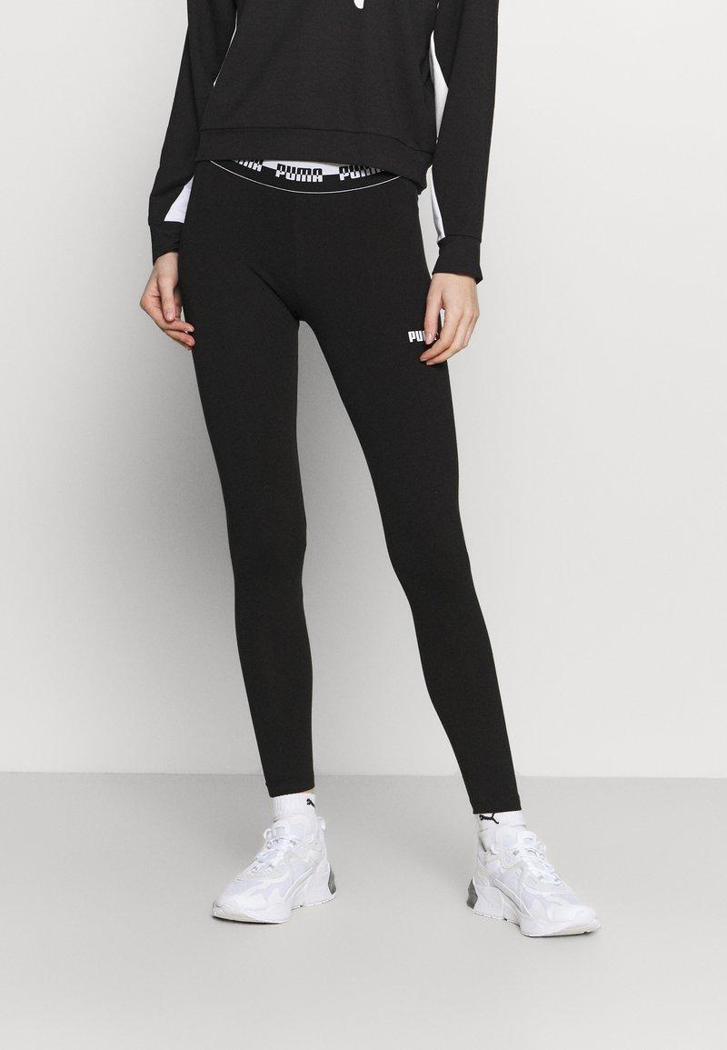Puma - AMPLIFIED LEGGINGS - Tights - black