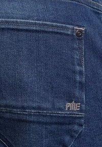 PME Legend - NIGHTFLIGHT - Denim shorts - dark used comfort - 4