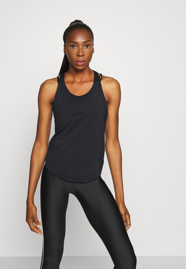 SPORT X BACK TANK - T-shirt de sport - black