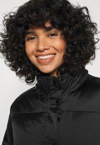 Obey Clothing - IRVING PUFFY COAT - Light jacket - black - 4