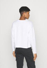Never Fully Dressed - MARGARITA BOXY TEE - Long sleeved top - white - 2